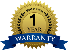 One Year Unlimited Mileage Warranty